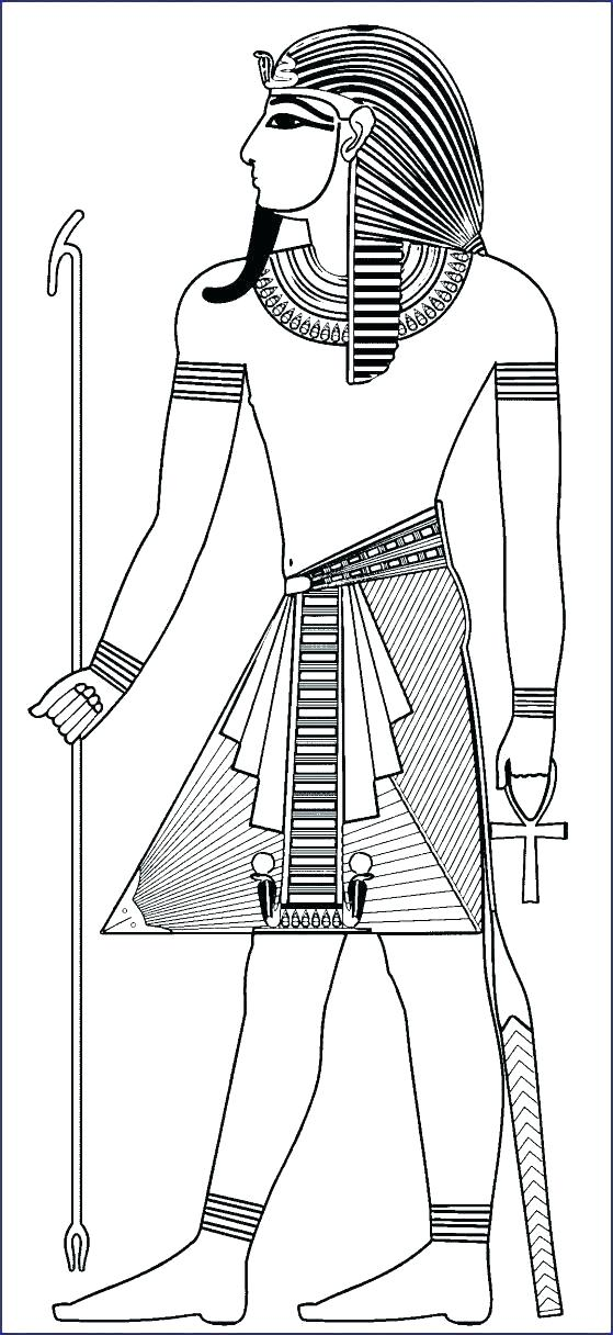 egyptian coloring page ancient egypt pages printable nueka