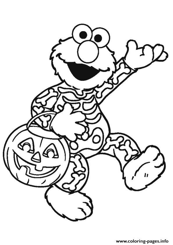 elmo halloween disney halloween coloring pages printable