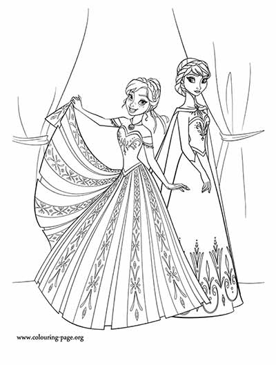 elsa and anna coloring page 101 frozen coloring pages sept