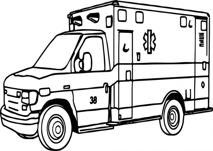 emergency coloring pages at getdrawings free for