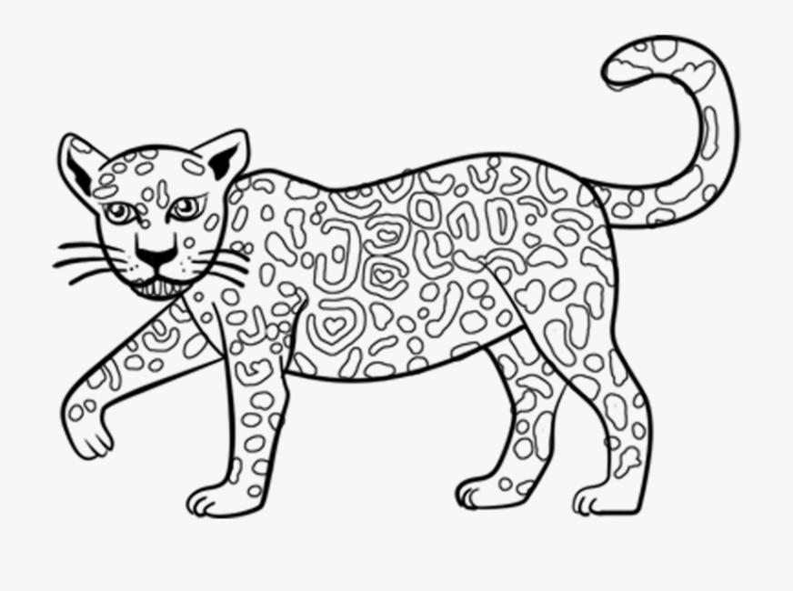 excellent cartoon jaguar coloring pages with jaguar jaguar