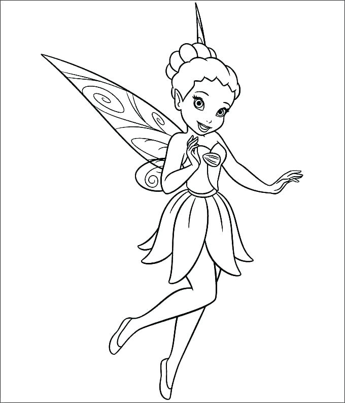 fairy coloring page colouring pages pdf for adults nakodoclub