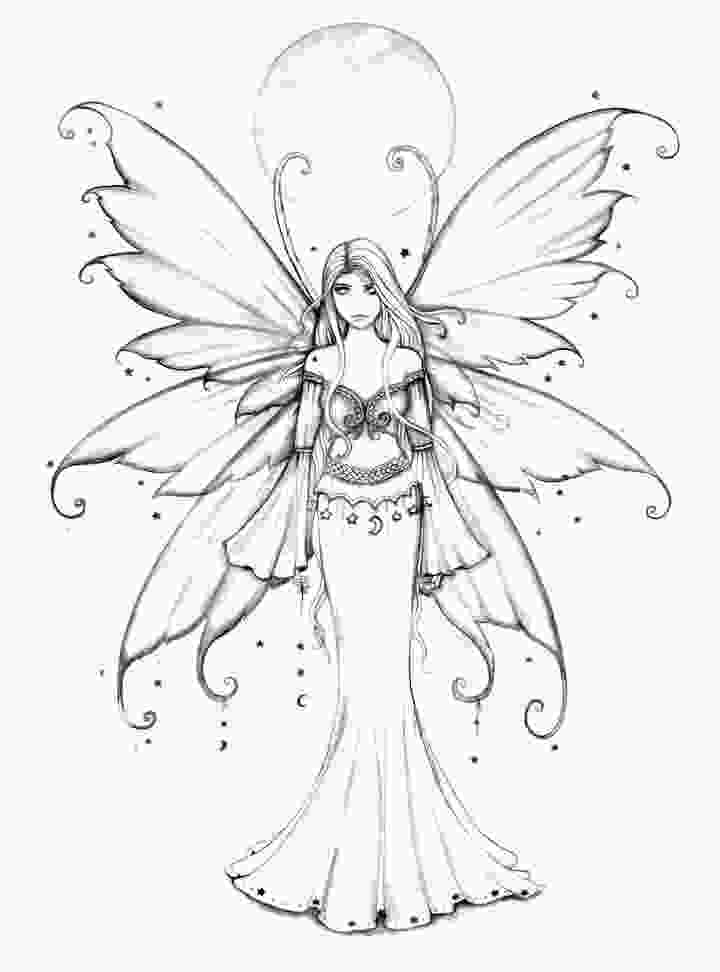 Fairy Coloring Pages For Adults Ideas Whitesbelfast Com