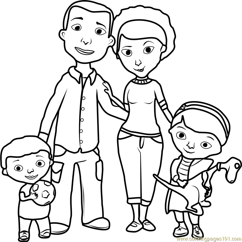 family coloring pages images family coloring pages