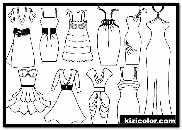 fashion coloring pages 8 kizi free coloring pages for