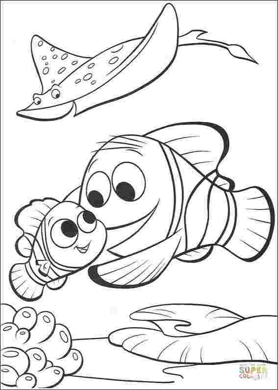 finding nemo coloring pages online coloring pages for kids