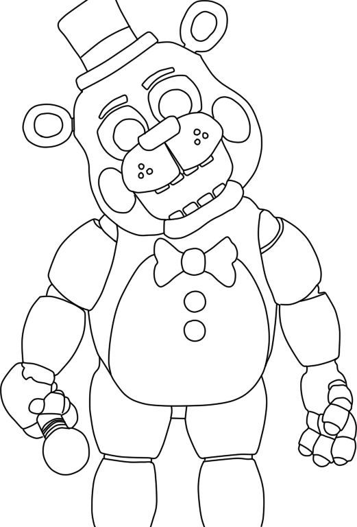 five nights at freddys coloring pages google search