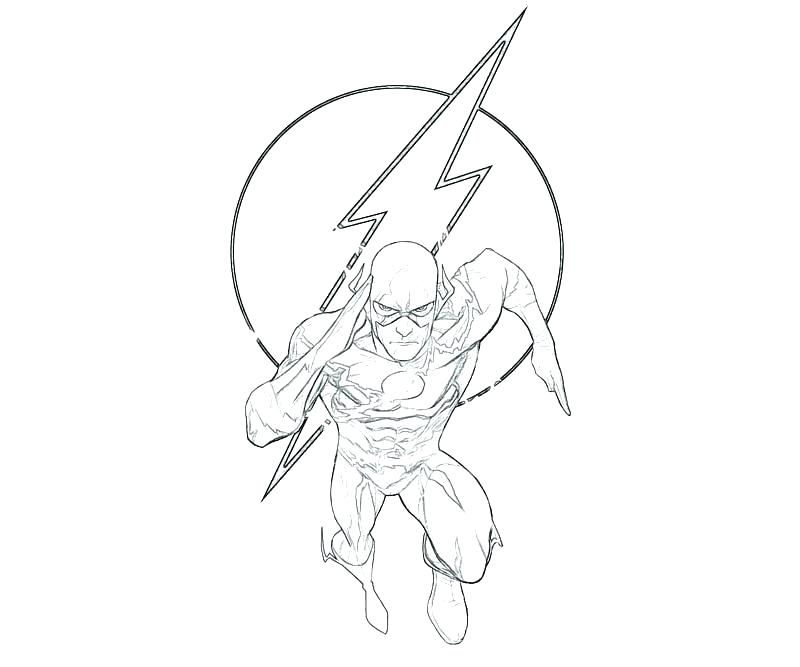 flash coloring page pidarclub