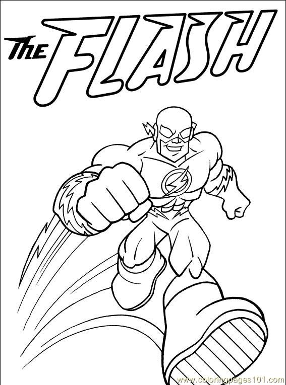 flash coloring pages clip art library