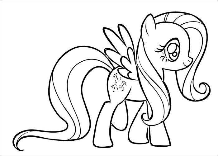 fluttershy coloring page beautiful photos fluttershy