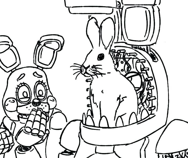 fnaf coloring pages printable at getdrawings free for