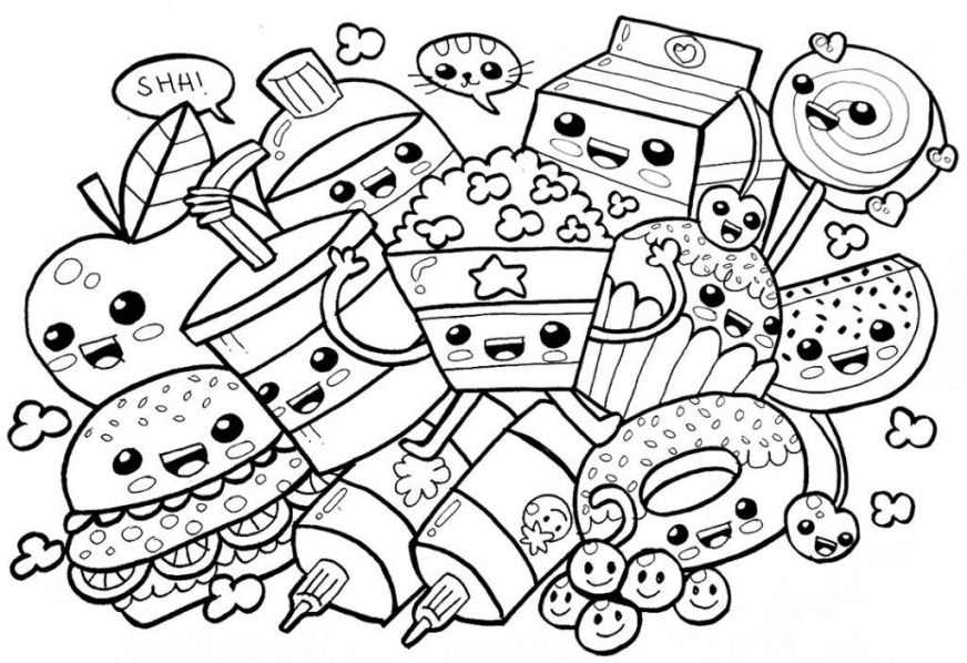 food coloring pages cute coloring pages tumblr coloring
