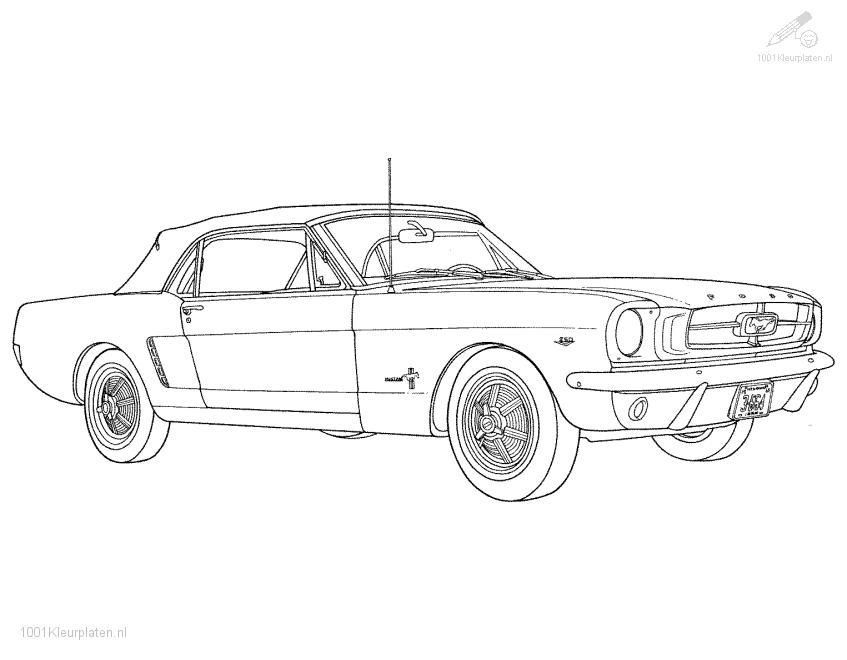 ford mustang coloring pages vehicle car ford mustang