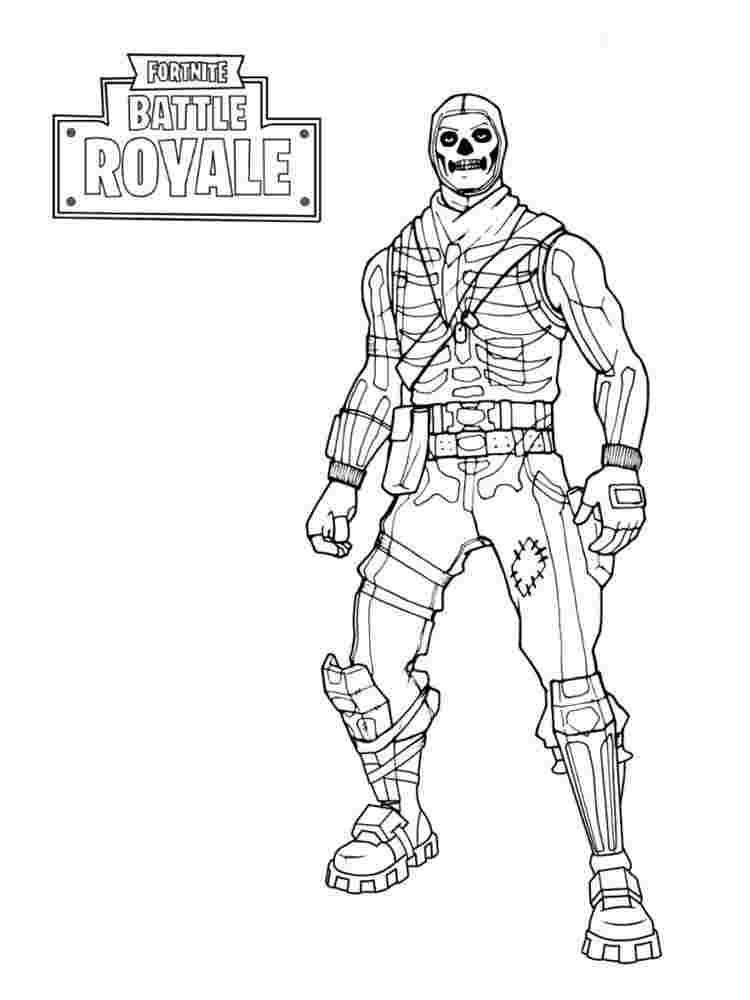 fortnite coloring pages vbucks fortnite battle royale raven