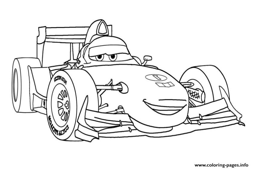 francesco disney cars coloring pages printable
