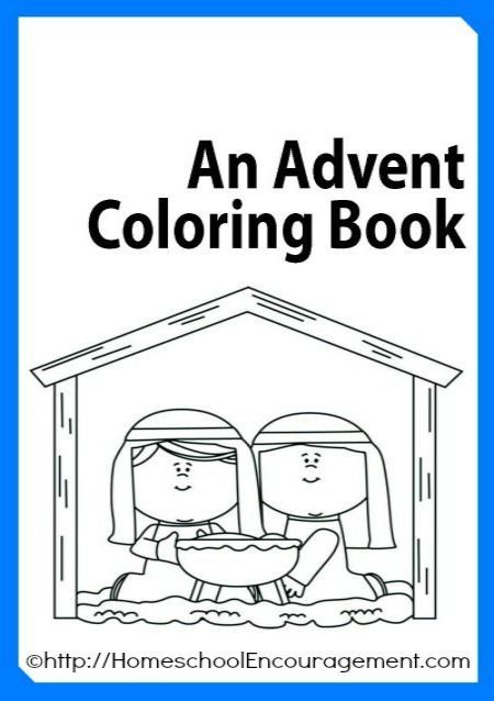 free advent coloring book plus 100s of advent coloring
