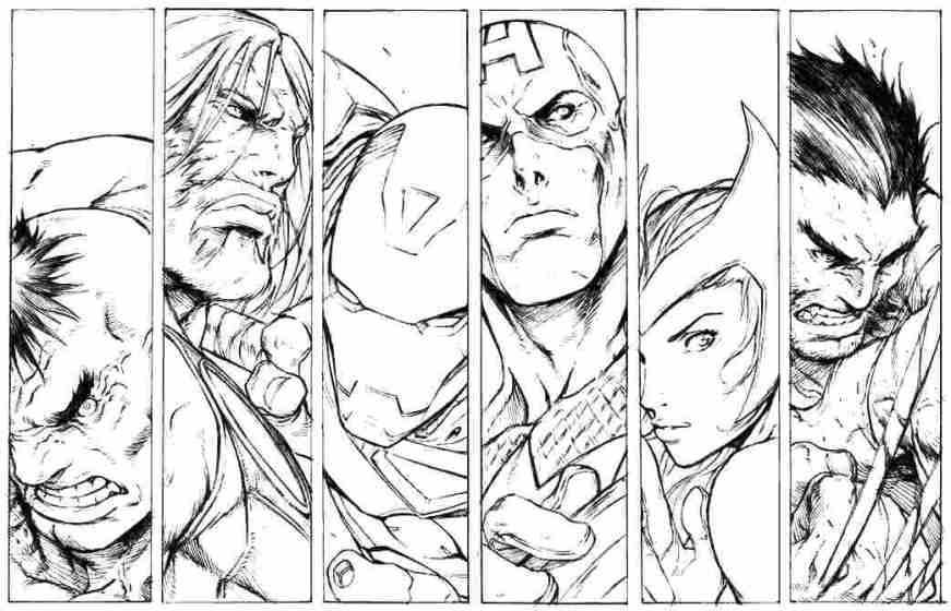 free avengers coloring pages at getdrawings free for