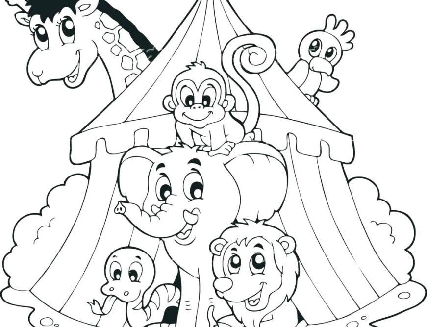 free clown coloring printables pusat hobi