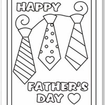 free coloring pages fathers day coloring pages free
