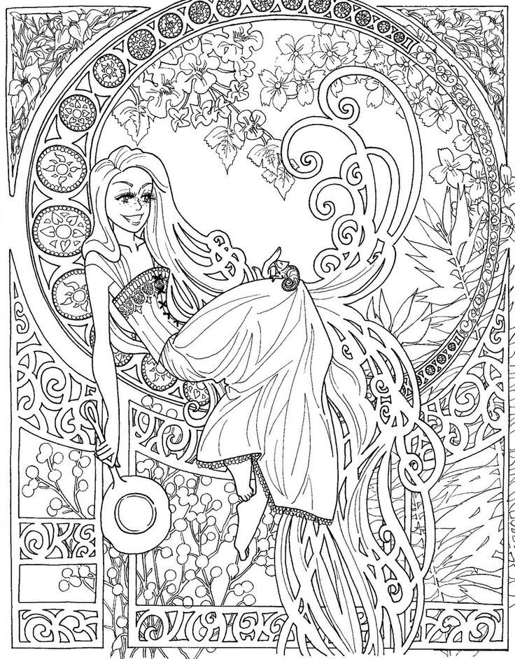 free coloring pages for adults disney