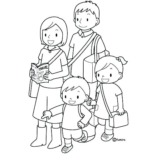 free coloring pages of family members superfresco