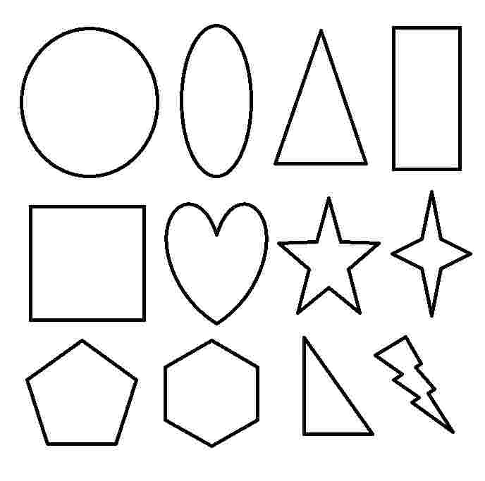 free coloring pages with shapes printable shapes coloring