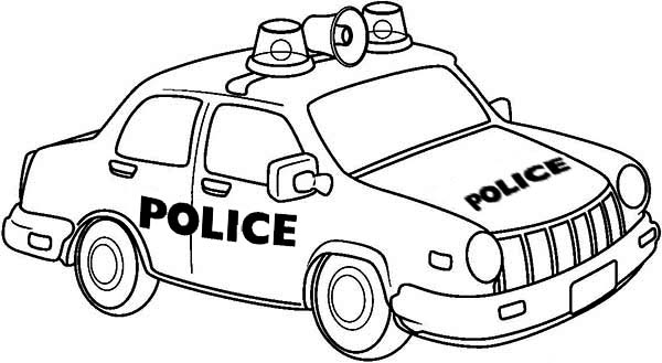 free colouring pages of police cars download free clip art