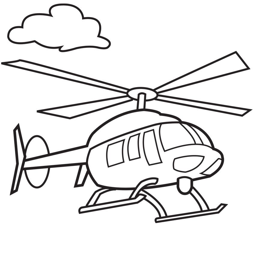 free helicopter coloring pages download free clip art free