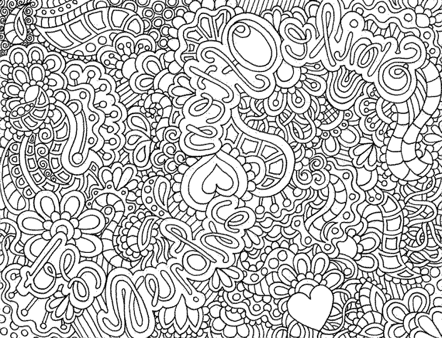 free intricate coloring pages download free clip art free