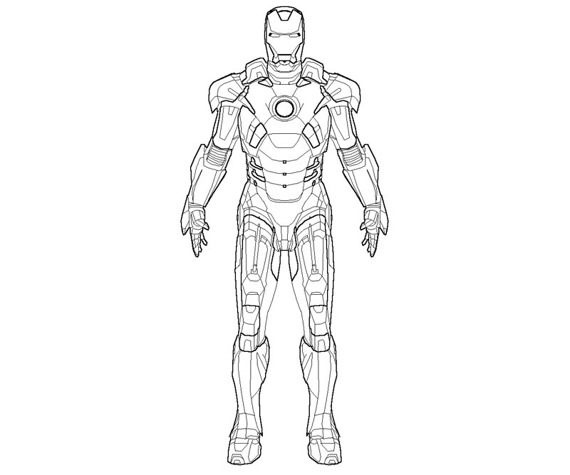 free iron man printable coloring pages download free clip