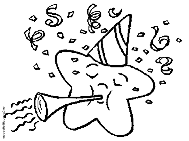 free new years eve coloring pages download free clip art