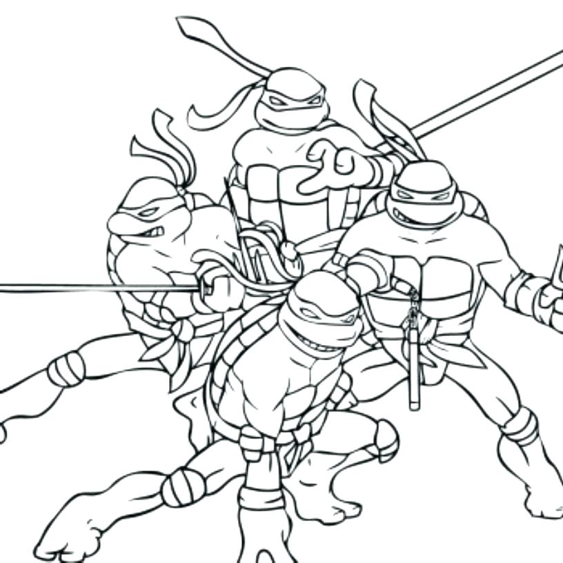 free ninja turtle coloring pages teenage mutant turtles com