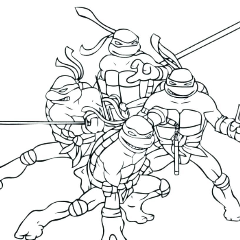 free ninja turtle coloring pages teenage mutant turtles com