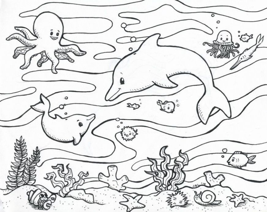 free ocean coloring pages for adults download free clip