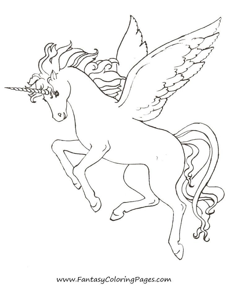 free pegasus coloring page coloring pages einhorn zum
