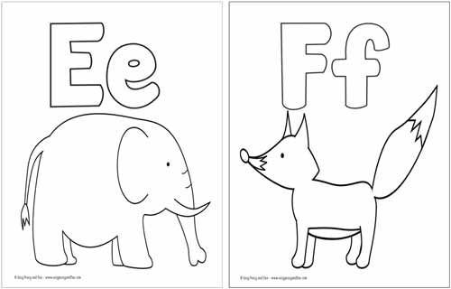 free printable alphabet coloring pages abc coloring pages