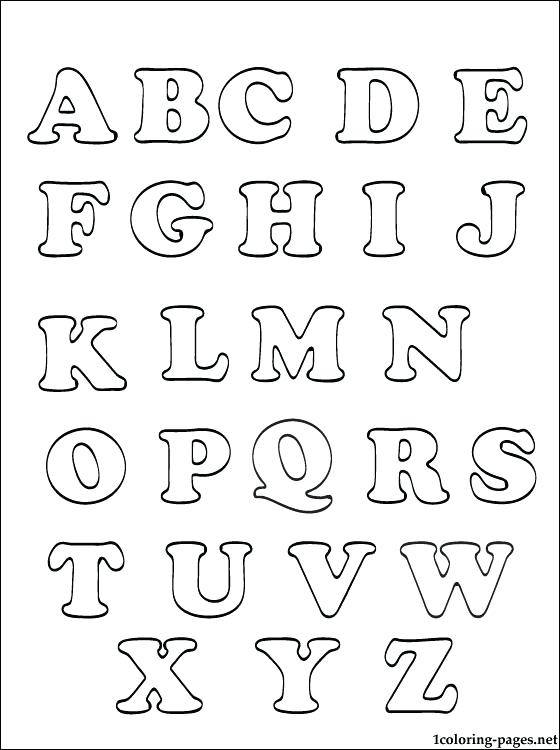 free printable alphabet coloring pages for adults that are