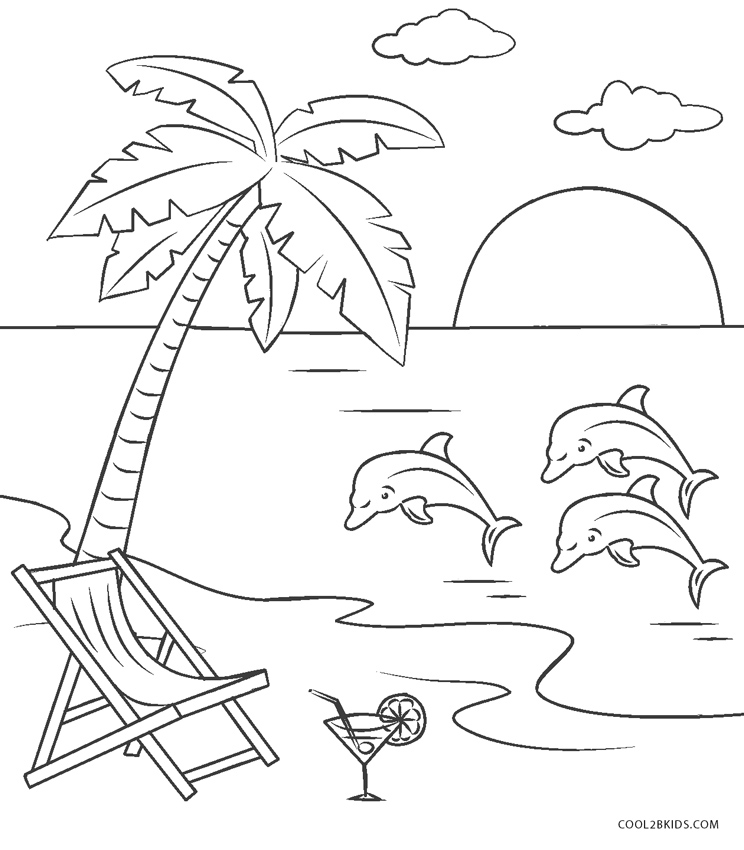 free printable beach coloring pages for kids cool2bkids
