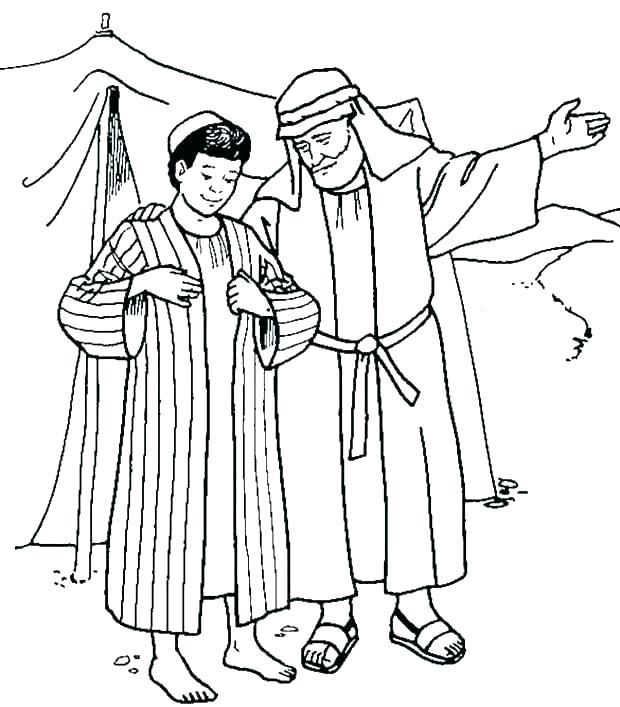 free printable bible coloring pages joseph pusat hobi