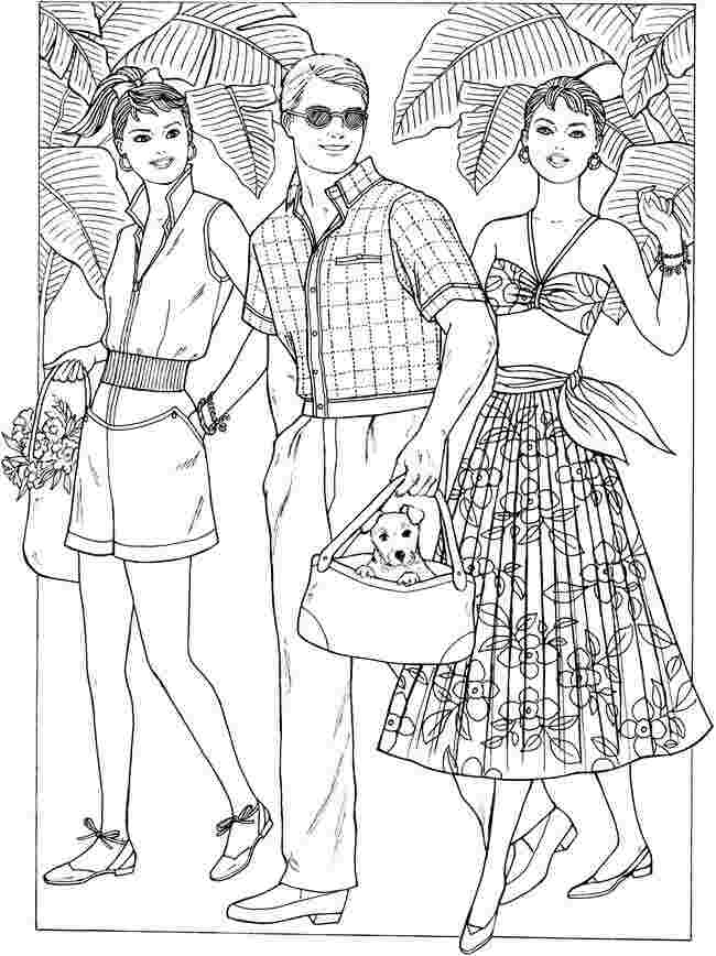 free printable coloring pages for fashion huangfei