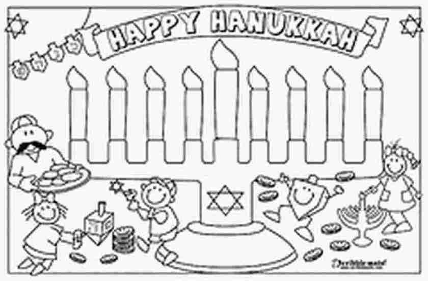 free printable coloring pages for hanukkah free printable