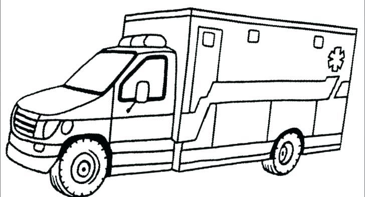 free printable colouring pages ambulance pusat hobi