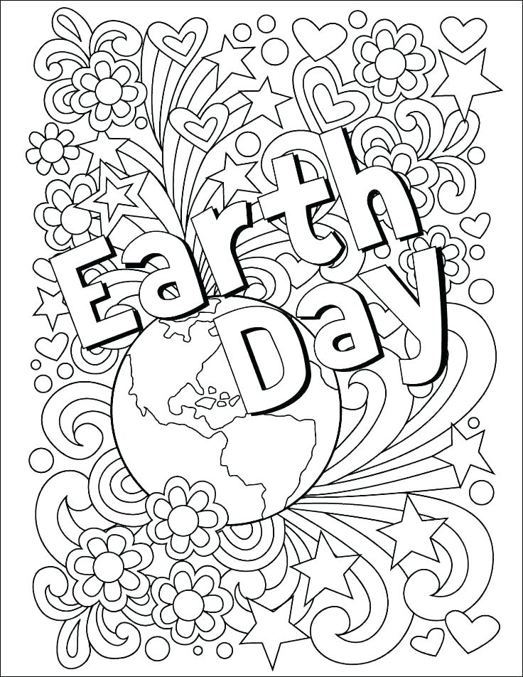 free printable earth day coloring sheets pages worksheets