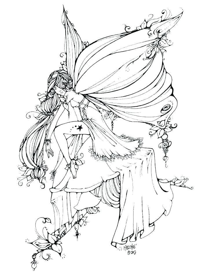 Fairies Coloring Pages Ideas - Whitesbelfast
