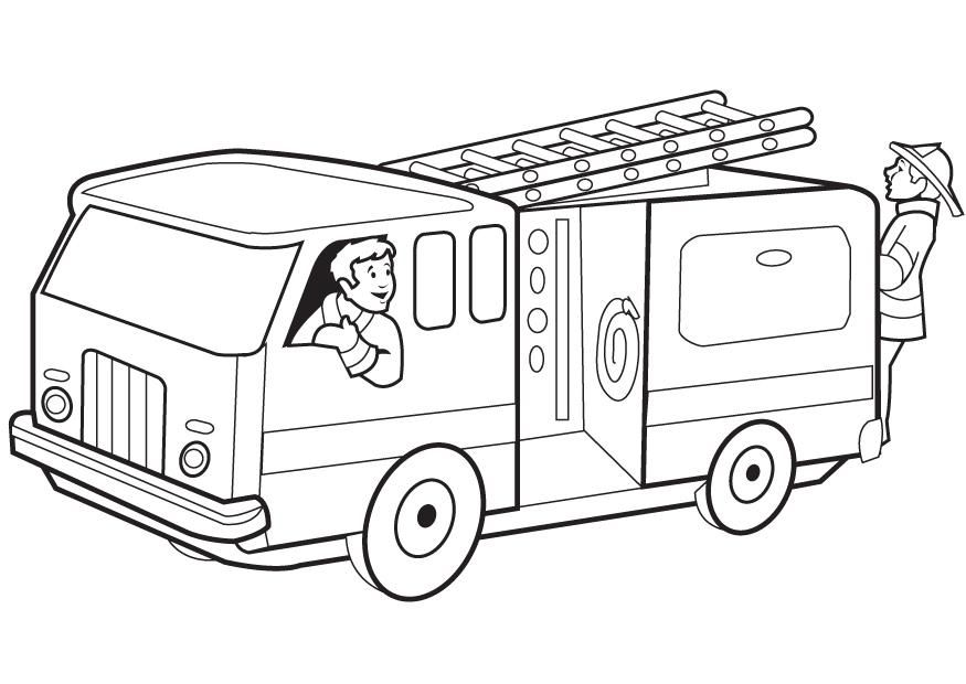 free printable fire truck coloring pages for kids truck