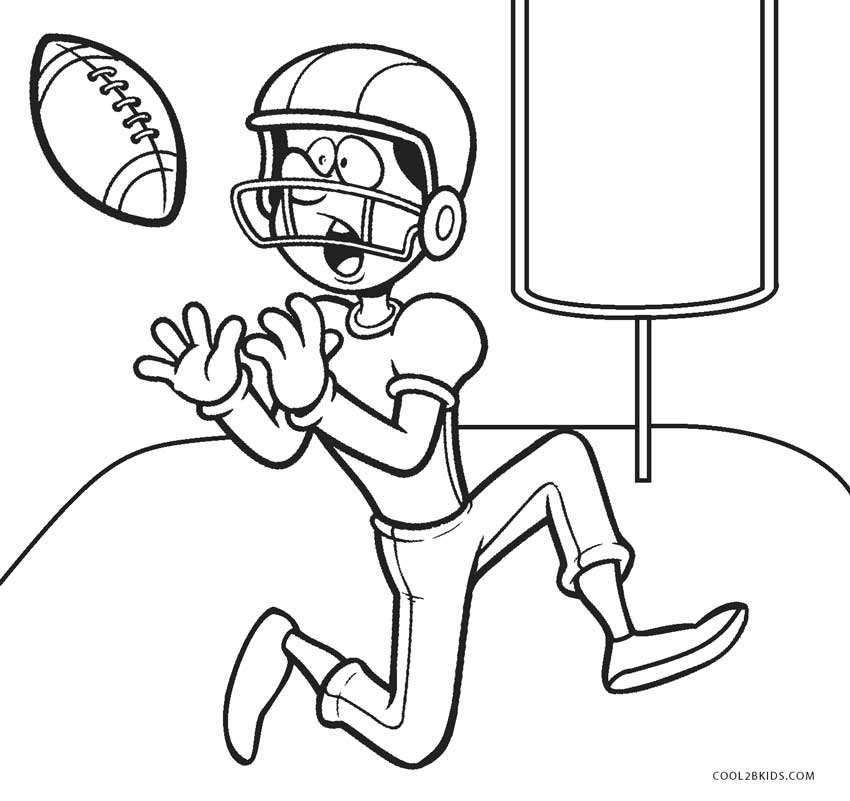 Football Coloring Pages Ideas - Whitesbelfast.com
