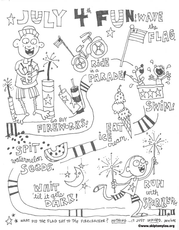 free printable fourth of july coloring pages skip to my lou