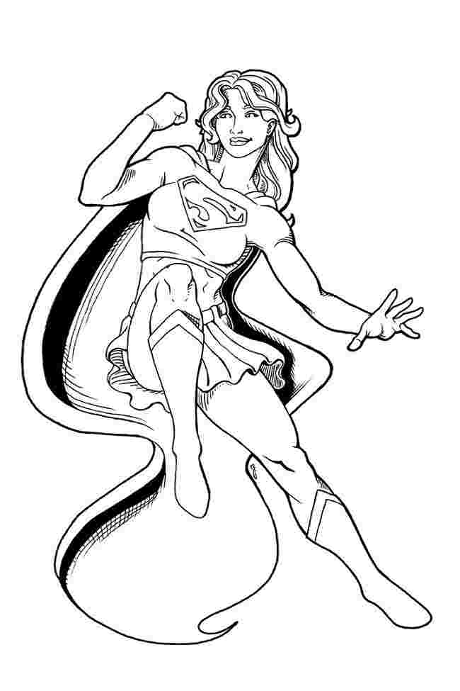 free printable girl superhero coloring pages free printable