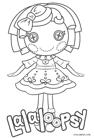 free printable lalaloopsy coloring pages for kids cool2bkids