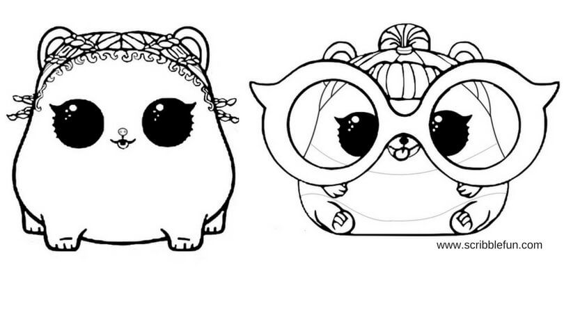free printable lol surprise pets coloring pages malvorlage